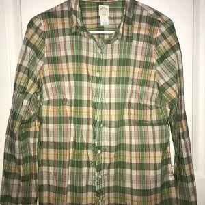 JCrew Perfect Shirt sz 8